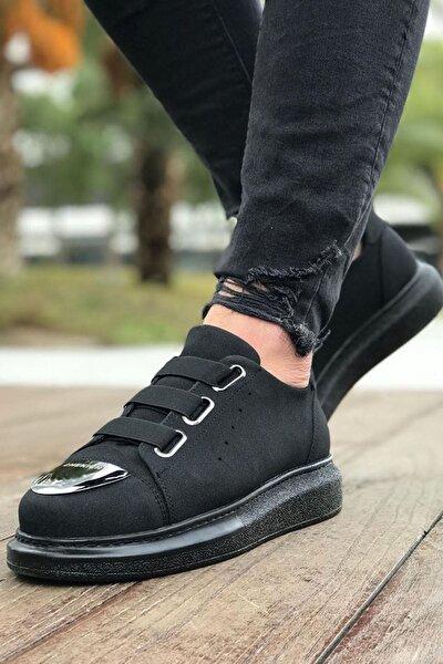 Ch251 Süet St Erkek Ayakkabı Sıyah