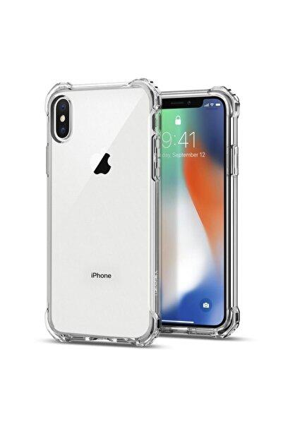 Iphone Xs Max Şok Darbe Emici Şeffaf Silikon Kılıf