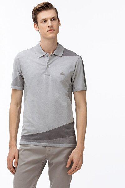 Erkek Slim Fit Slim Fit Blok Desenli Renkli Polo Yaka T-Shirt PH5902 PH5902
