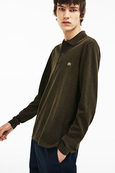 Erkek Klasik Fit Yeşil Polo Yaka T-Shirt