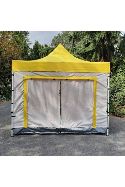 Sarı Kamp Çadırı 3x3 m 07