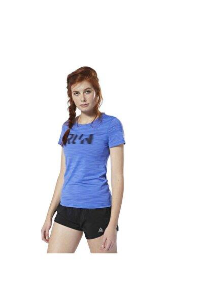 Kadın mavi Runnıng Actıvchıll Tişört