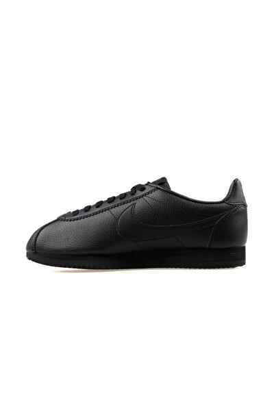 Erkek Siyah Classic Cortez Leather Sneaker 749571-002