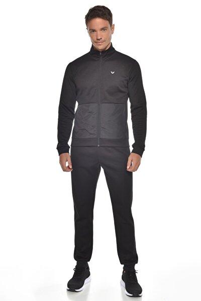 Siyah Erkek Eşofman Takım Gw-9322