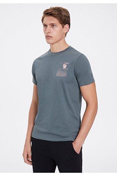 Erkek Gri Sumatran Elephant T-shirt