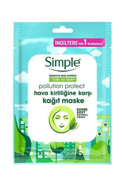 Kind To Skin Hassas Ciltlere Uygun Hava Kirliliğine Karşı Vitamin İçeren Kağıt Maske 21ML