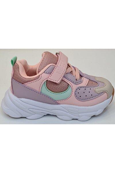 Günlük Kız Çocuk Spor Ayakkabı Pudra