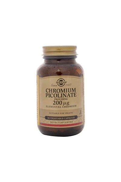 Chromium Picolinate 200 mcg 90 Kapsül 033984008663
