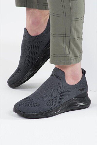041 Erkek Füme Siyah Spor Ayakkabı