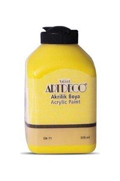 Akrilik Boya 500 ml 3601 Sarı