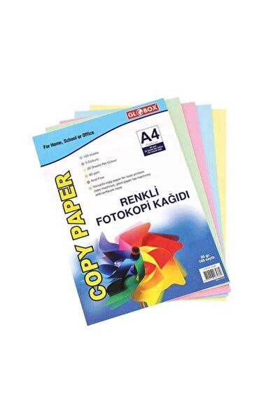 Renkli 100'lü A4 Kağıdı