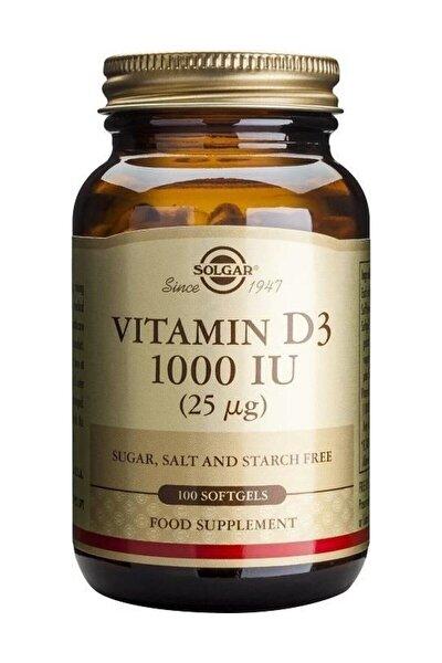 Vitamin D3 1000 Iu 100 Kapsül