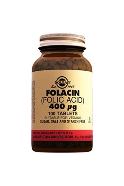 Folic Acid Folacin 400 mcg 100 Tablet 033984010802