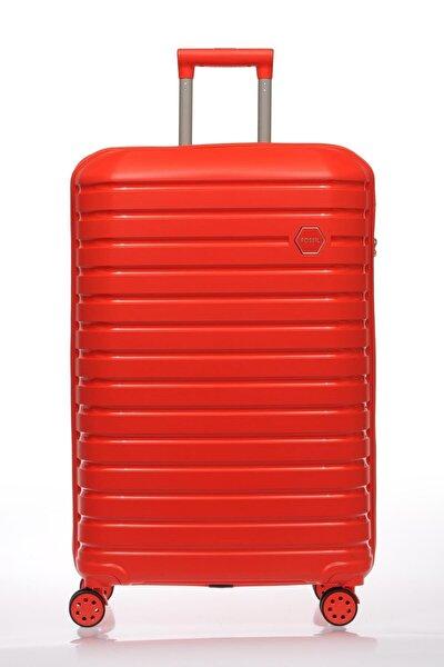 Fsy1137-s Kırmızı Unısex Kabin Boy Valiz