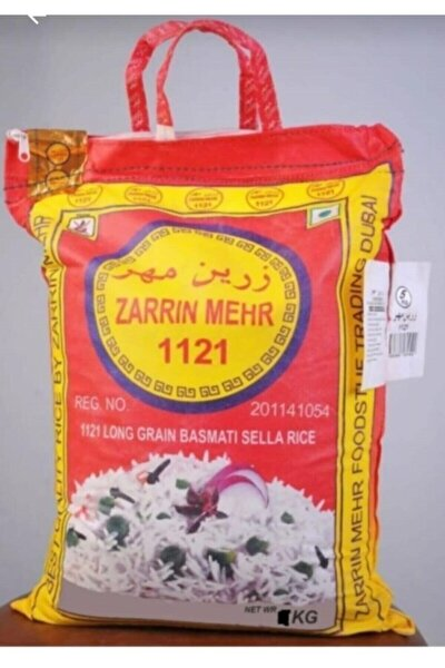 Zerrin Merh Safran Aromalı Hint-iran Pirinç 5 Kg