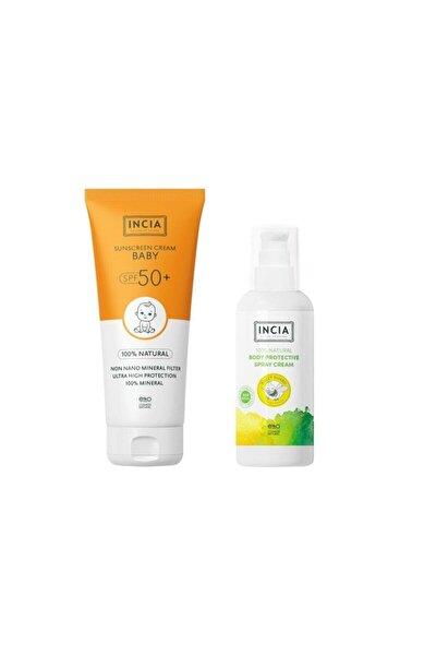 Güneş Seti Çocuk Spf 50 Sun Cream + 100 ml Vücut Spreyi