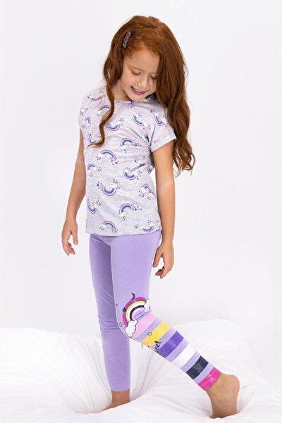 Kız Çocuk Tayt Takım Rp2456-2