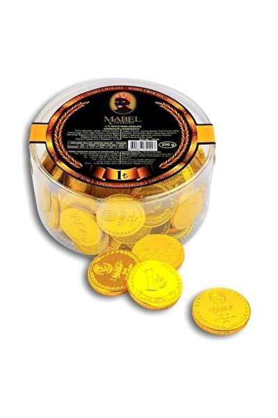 1 Tl Sütlü Para Çikolata 83 Ad 250 gr