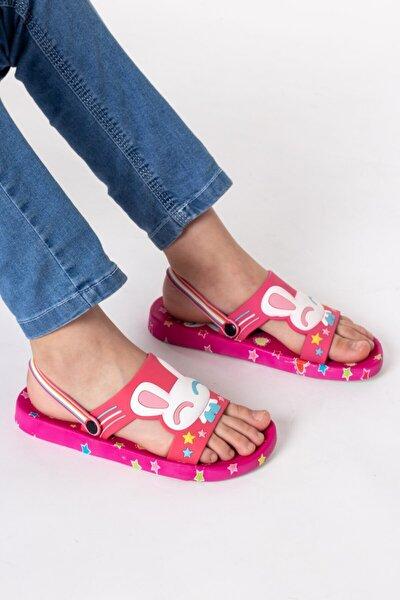 Çocuk Plaj Banyo Terlik Sandalet - Renkli - Yumuşak Taban - Gcst1