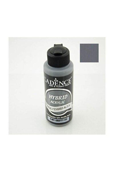 Hybrid Multisurface Akrilik Boya 120 ml. H-081 Grafiti Gri