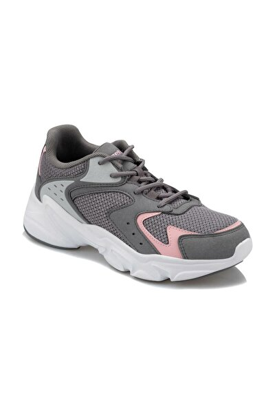 NILES W 9PR Gri Kadın Koşu Ayakkabısı 100426713