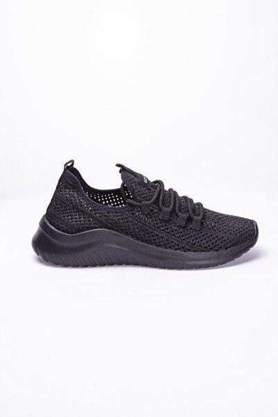 Erkek Siyah   Sneaker Label-t2555