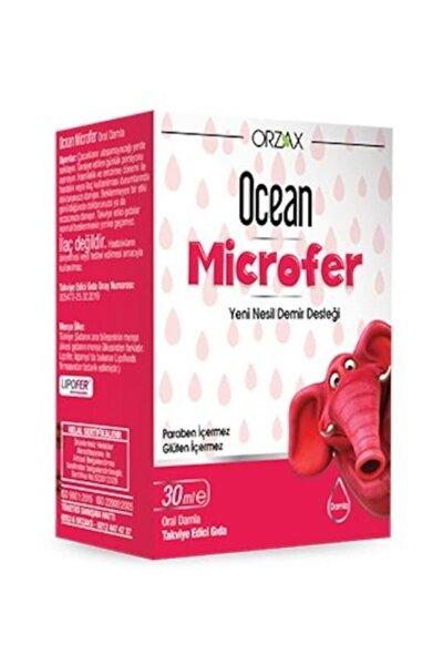 Orzax Microfer Damla 30 Ml