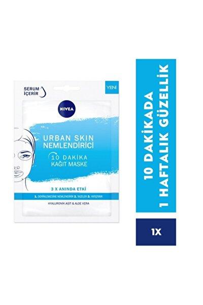 10 Dakika Urban Skin Nemlendirici Kağıt Yüz Bakım Maskesi 28 gr
