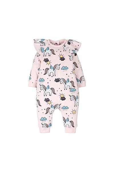 Kız Bebek Pembe Unicorn Tulum 14332