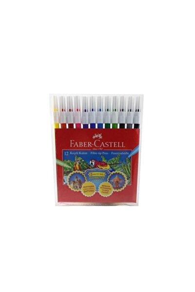 Faber 12 Renk Keçeli Boya Kalemi 000068