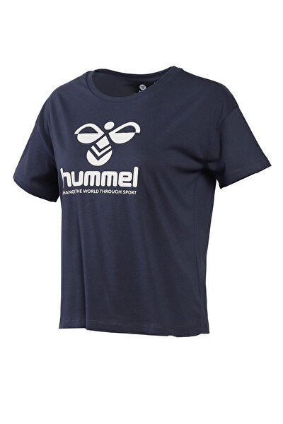 HMLVODER Lacivert Kadın T-Shirt 101085891