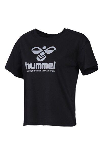 HMLVODER Siyah Kadın T-Shirt 101085888