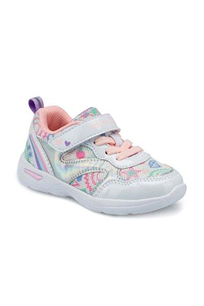 POLKA Beyaz Kız Çocuk Koşu Ayakkabısı 100493711
