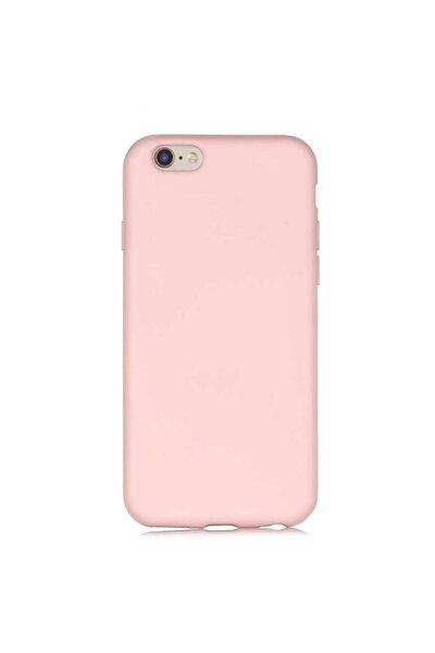 Iphone 6g/6s Uyumlu, Pembe, Lansman Içi Kadifeli Silikon Kılıf