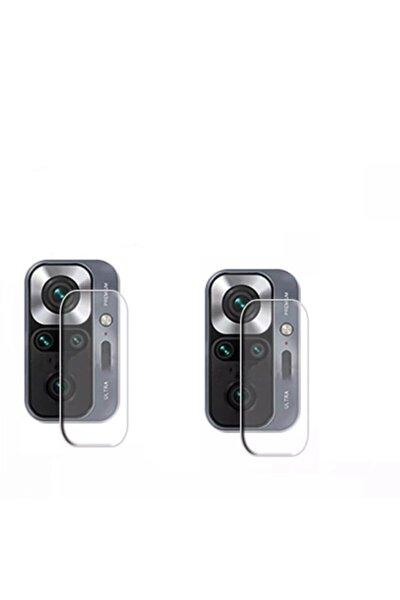 Xiaomi Redmi Note 10 Pro Nano Esnek Cam Kamera Koruyucu 2 Adet