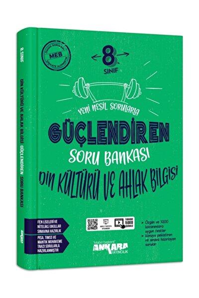 Ankara Yayıncılık 8.sınıf Güçlendiren Din Kültürü Ve Ahlak Bilgisi Soru Bankası