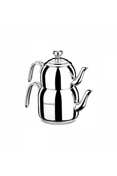 Gümüş Droppa Mega Çaydanlık Takımı A058