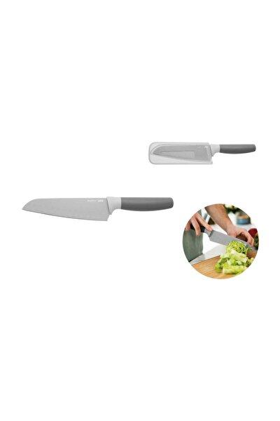 Leo Gri Renk Santoku Bıçağı