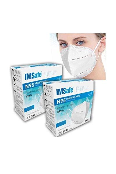Beyaz Medikal Maske  20 Adet N95