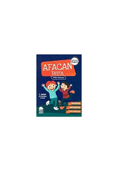 Afacan Tayfa 1. Sınıf İlk Okuma Seti 10 Kitap