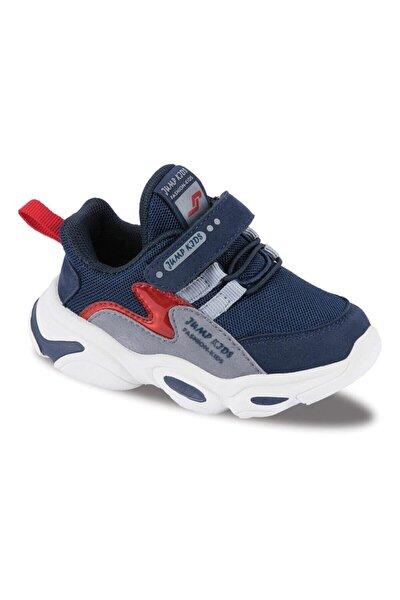 Çocuk Spor Ayakkabı 25833 C Navy/red