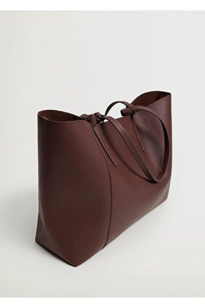Pürtüklü Shopper Çanta