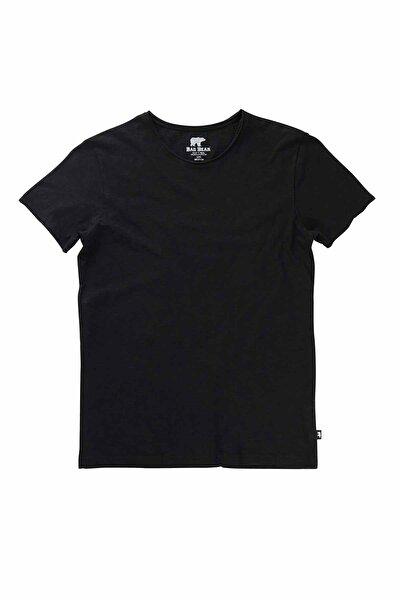 Erkek Siyah O-neck Tee Tişört