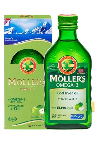Möllers Omega-3 Sıvı Formu 250 ml - Elmalı