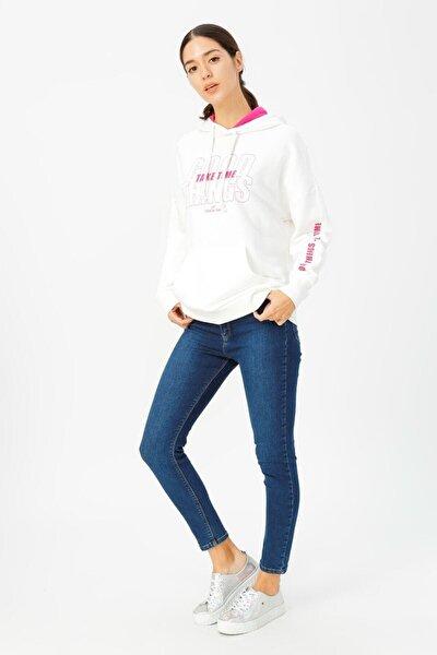 Kadın Lacivert Natalie Skinny Pantolon Lf2025113