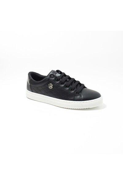 TIGGY 1FX Siyah Kadın Havuz Taban Sneaker 100910789