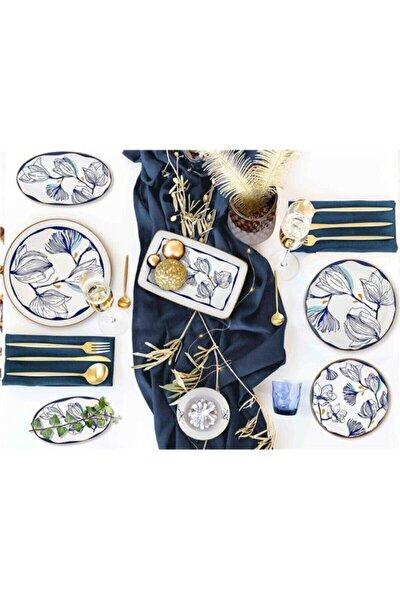 Bleu Servis Tabağı 6'lı Set 26 cm