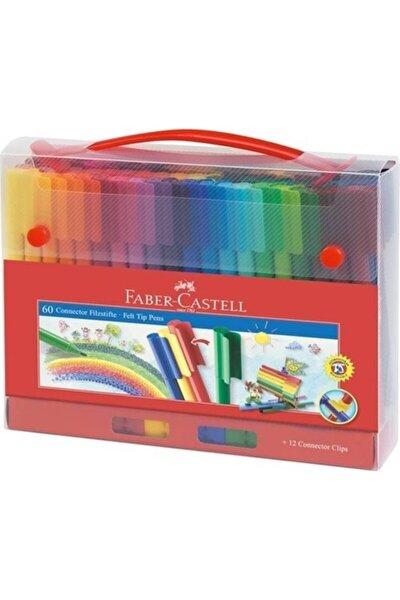 Eğlenceli Keçeli Kalem Kartlı 60 Renk