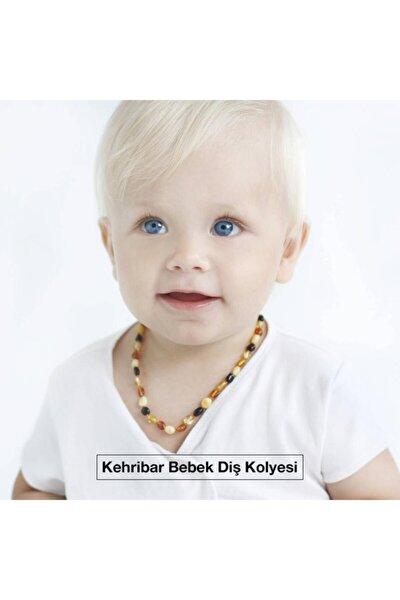 Kehribar Bebek Diş Kolyesi, Kehribar Kolye Kız Erkek Çocuk Bebek Diş Kolyesi