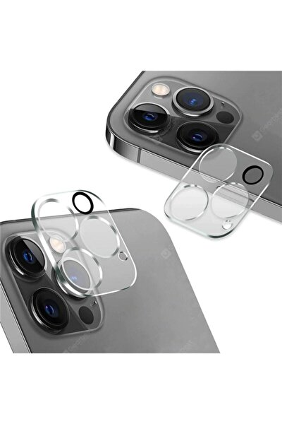 Apple Iphone 12 Pro Max Kamera Lens Koruyucu Cam Filmi